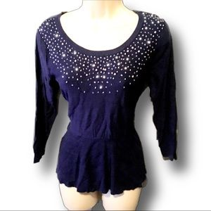 Elle Sequence beaded Sweater